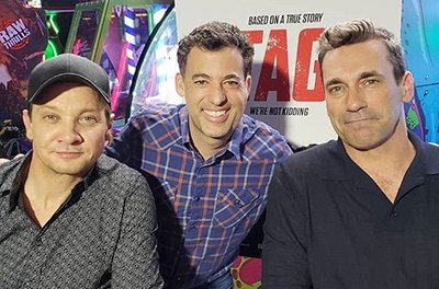 Interview with Jon Hamm and Jeremy Renner