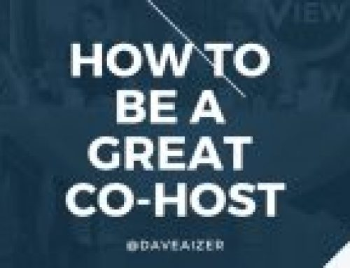 Be A Selfless And Gracious Co-Host