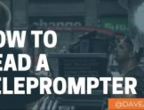 How To Read A Teleprompter