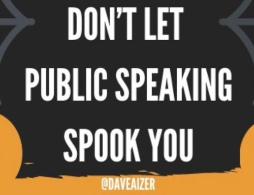 Don't Get Spooked By Speaking