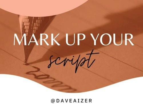 Mark Up Your Script