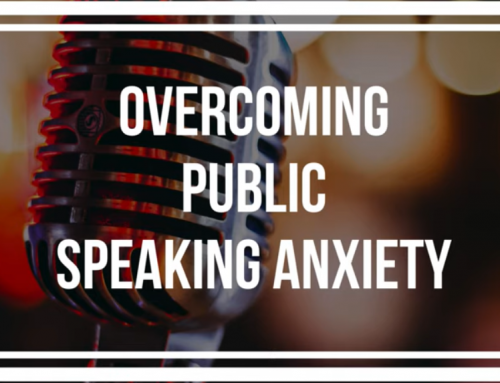 Three Tips To Conquer Public Speaking Anxiety