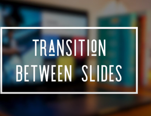 Transitioning Between Slides